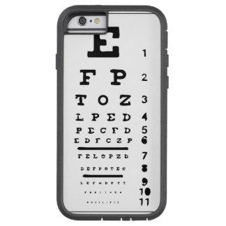 Eye Vision chart I phone 6 Case Tough Xtreme iPhone 6 Case