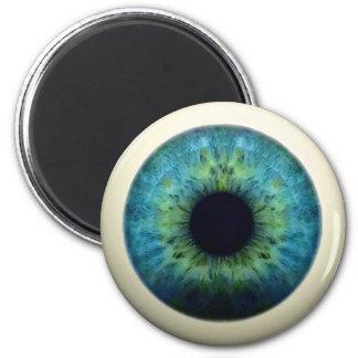 EYEBALL! (A great Halloween novelty item!) ~ 6 Cm Round Magnet