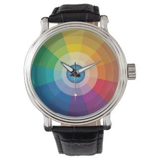 Eyeball Color Wheel Watch