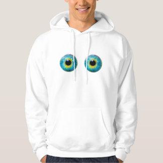 Eyeball Eye I Hoodie (Adult Large)
