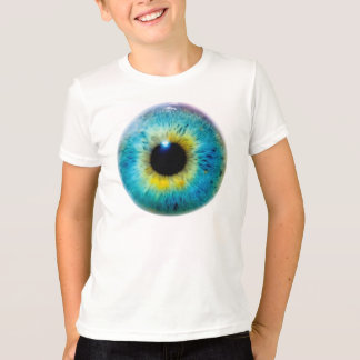 Eyeball Eye I Tee T-Shirt (Youth Large)