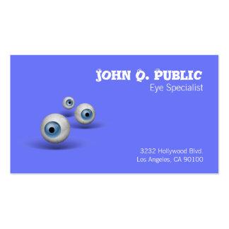 Eyeball Eye Specialist Business Card