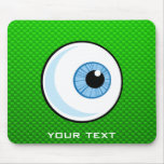 Eyeball; Green Mousemat