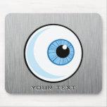Eyeball; Metal-look Mousepad