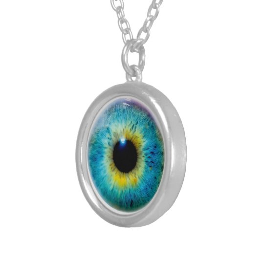 Eyeball necklace keep an eye out at all times zazzle eyeball necklace keep an eye out at all times aloadofball Images