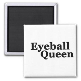Eyeball Square Magnet