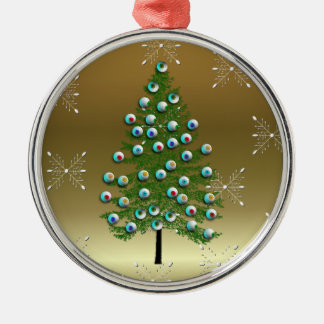 Eyeball Tree Christmas Ornament