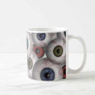 Eyeballs mug