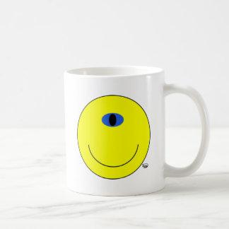 Eyeclops Basic White Mug