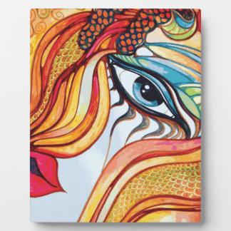 Eyeclops design by artist Lisa Catherwood Plaque
