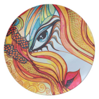 Eyeclops Melamine Plate