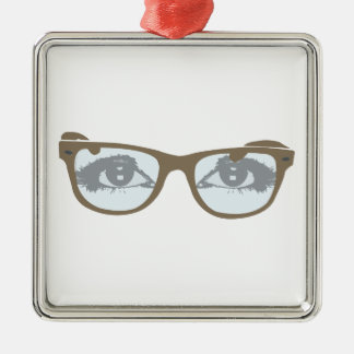 Eyeglasses eyes of glasses eyes christmas ornament