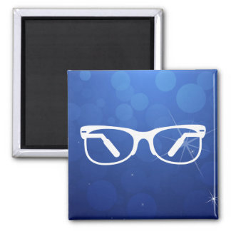 Eyeglasses Functions Pictograph Square Magnet