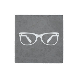 Eyeglasses Functions Pictograph Stone Magnet
