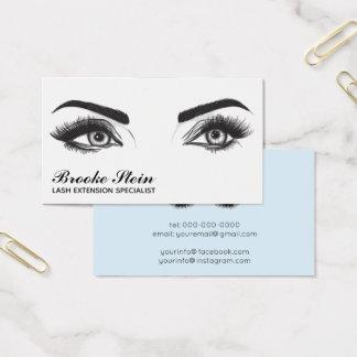 Eyelash Extension Business Card