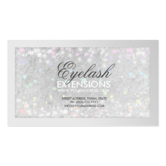 eyelash extension gift certificate template - 5 000 glitter business cards and glitter business card