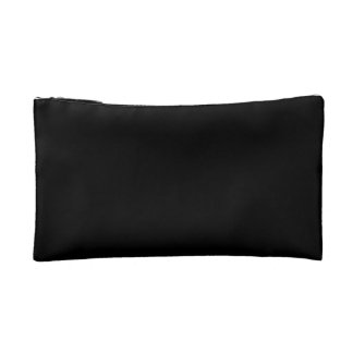 Eyelashes Makeup Bag - Black and Gold