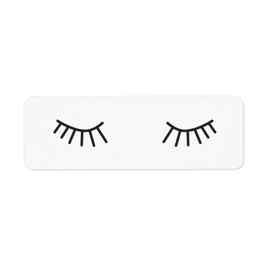 eyelashes stickers, cute face stickers
