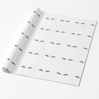 Eyelashes Wrapping Paper