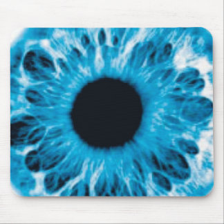 Eyepad (blue) mouse pads