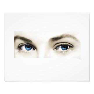 """Eyes 20""""x16"""" photo art"""