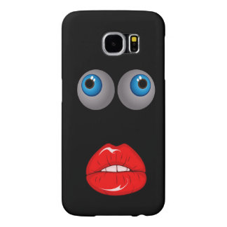 Eyes and Mouth Samsung Galaxy S6 Cases
