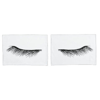 Eyes Asleep Standard Pair of Pillowcases