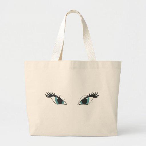 Eyes glamour tote bag