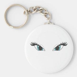 Eyes glamour keychain