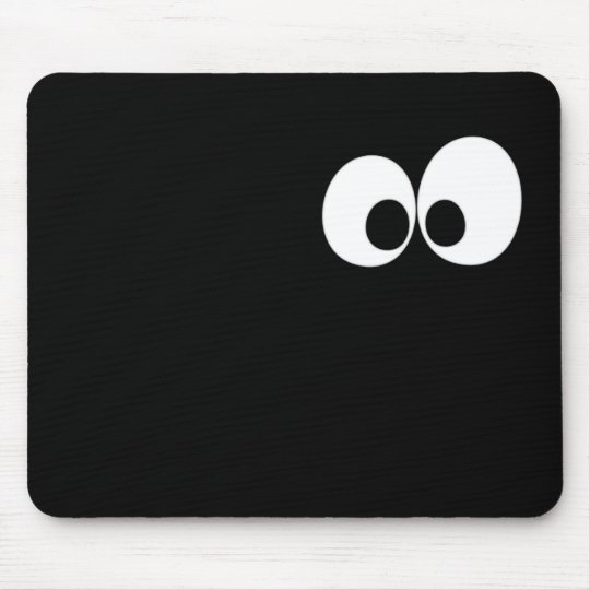 Eyes in the Dark Mouse Mat
