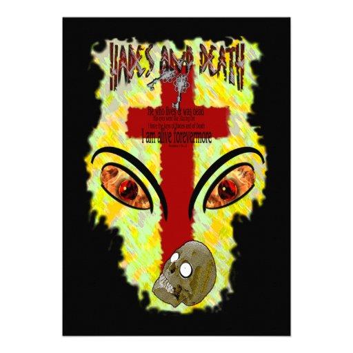 Eyes Like Blazing Fire - Revelation 1:14-18 Custom Invites