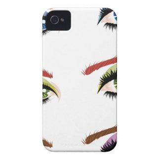 Eyes make up iPhone 4 Case-Mate case