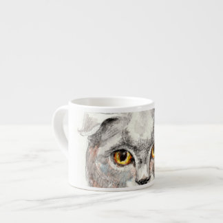 Eyes of a Cat Espresso Cup
