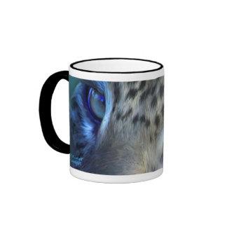 Eyes Of A Leopard Art Mug