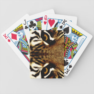 Eyes of a Tiger Bicycle Playing Cards