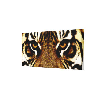 Eyes of a Tiger Canvas Print