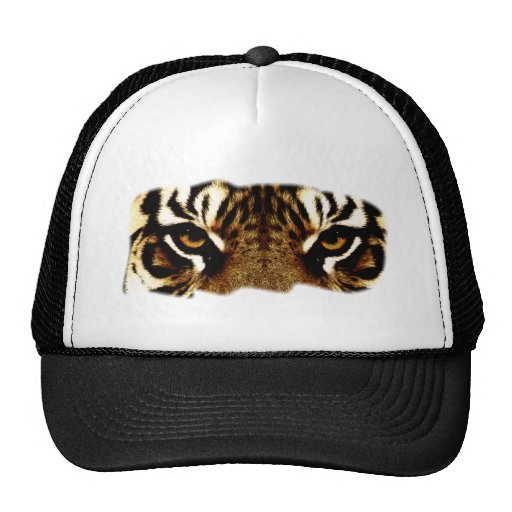 Eyes of a Tiger Trucker Hats
