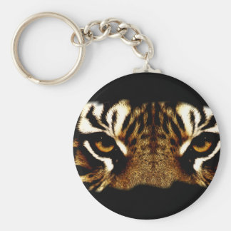 Eyes of a Tiger Key Ring