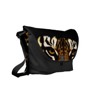 Eyes of a Tiger Messenger Bags