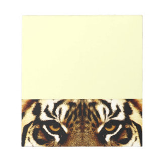 Eyes of a Tiger Notepad
