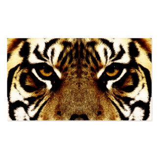 Eyes of a Tiger Pack Of Standard Business Cards
