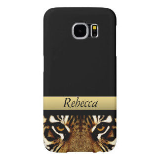 Eyes of a Tiger Personalized Samsung Galaxy S6 Cases