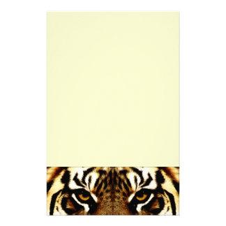 Eyes of a Tiger Stationery Design