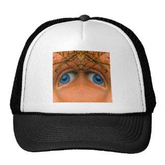 Eyes of an Alien Trucker Hats