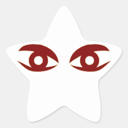Eyes of eyes stickers