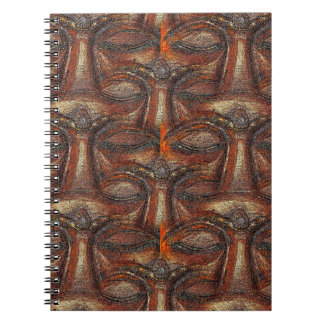 Eyes of the Buddha Spiral Notebook