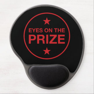 Eyes On The Prize Stars Circle (Choose Your Color) Gel Mouse Pad