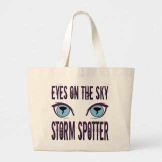 EYES ON THE SKY STORM SPOTTER CANVAS BAGS