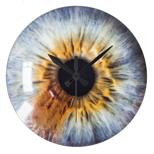 Eyes On You Hazel Large Clock