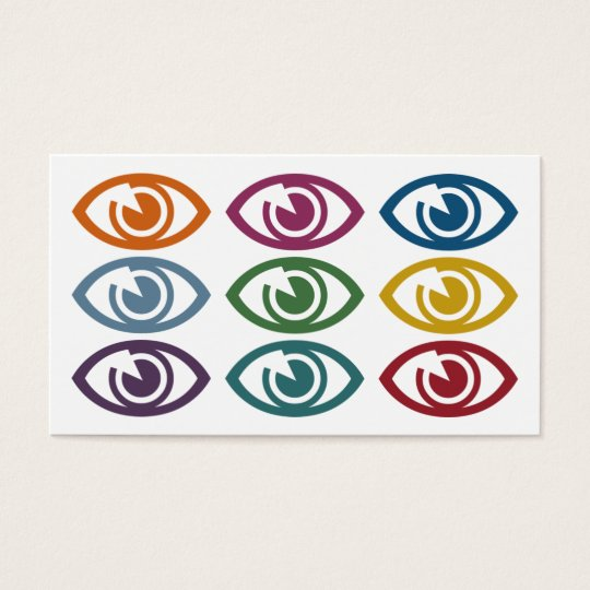 Eyes Optometrist Business Cards